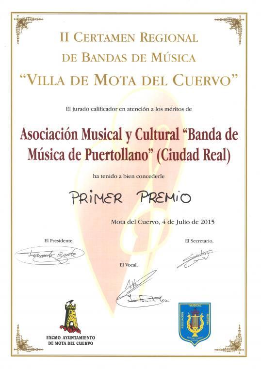 """II Certamen Regional de Bandas de Música """"Villa Mota del Cuervo"""""""